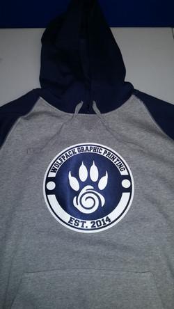 Wolfpack Printing Hoodie