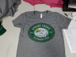 Spring Creek Elementary Shirts