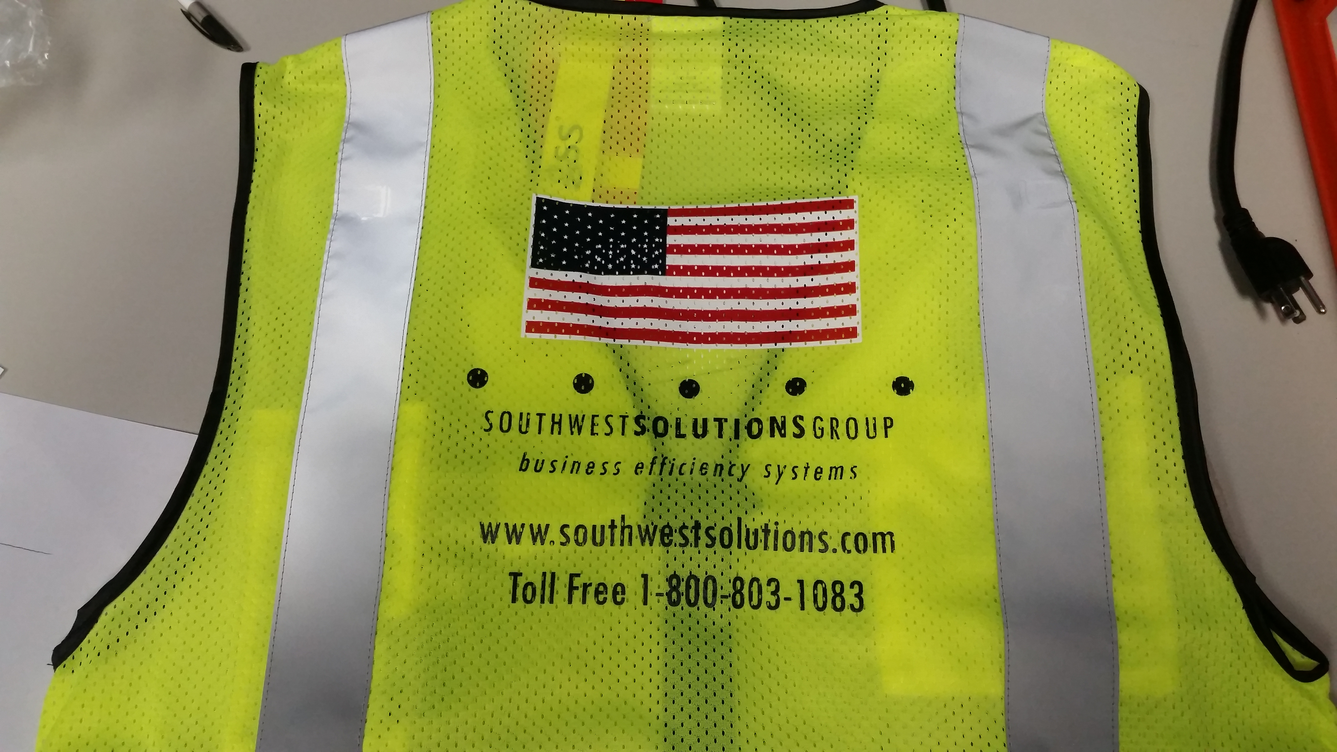 Custom Printed Safety Vest