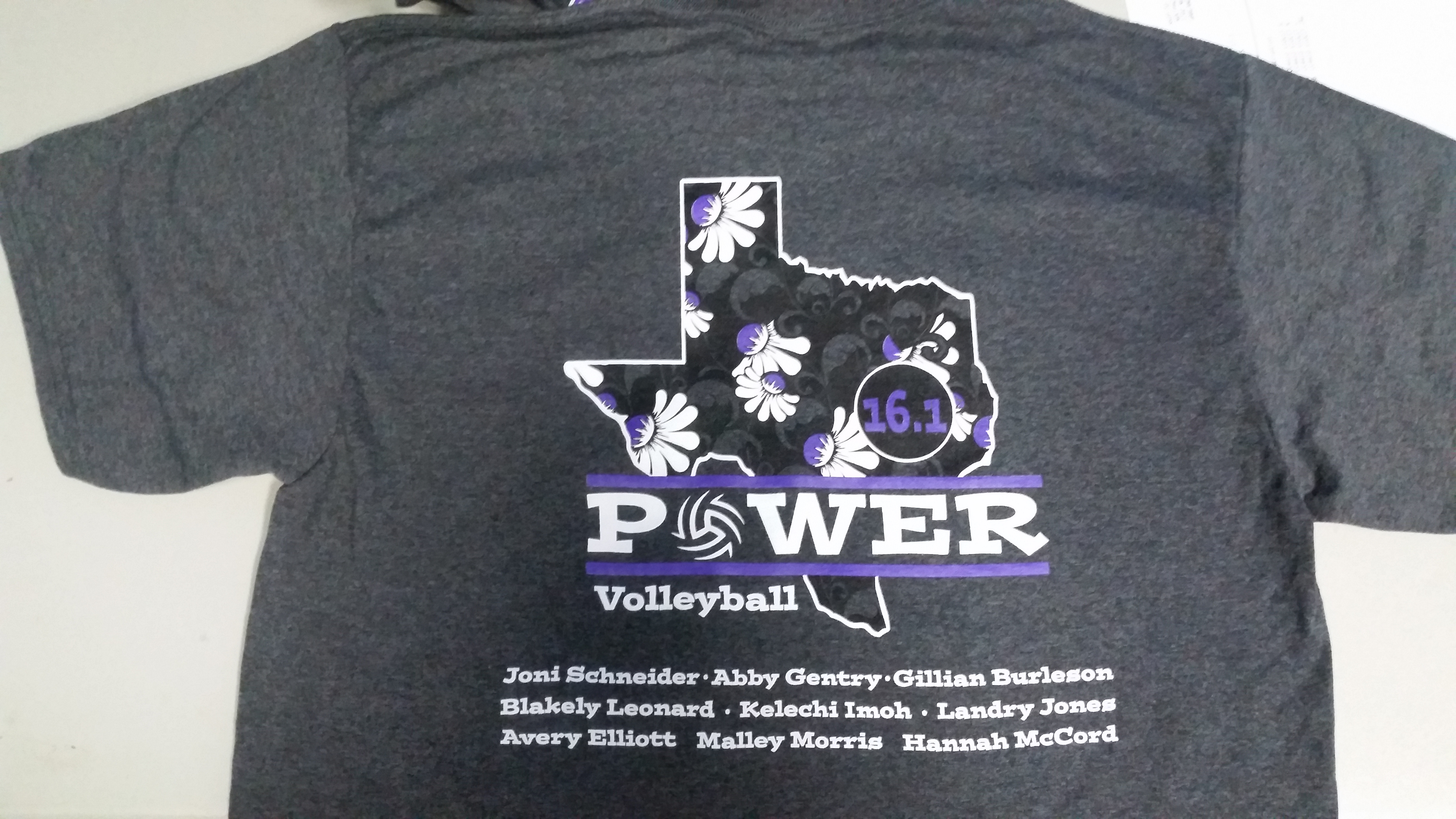 Volleyball Club Team Shirts