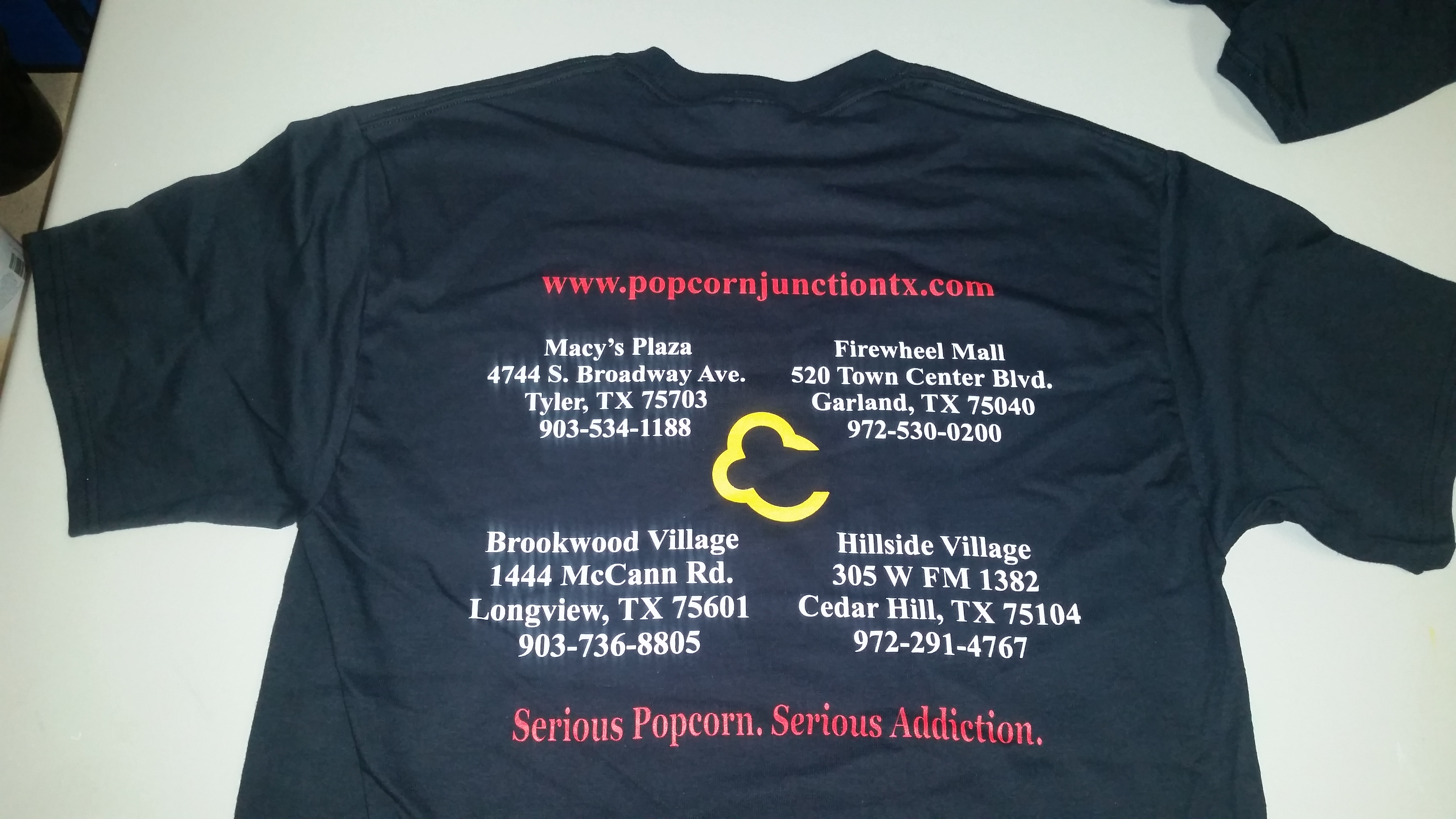 Popcorn Junction Shirts