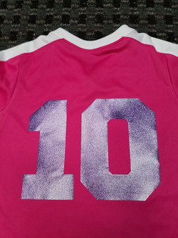Soccer Jersey Number