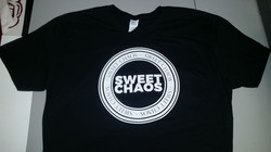 Shirts for local band Sweet Chaos