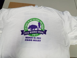 Charity Run Shirts