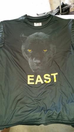 Plano East Volleyball Warmup Shirts