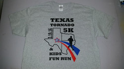 Charity 5K Race Shirts