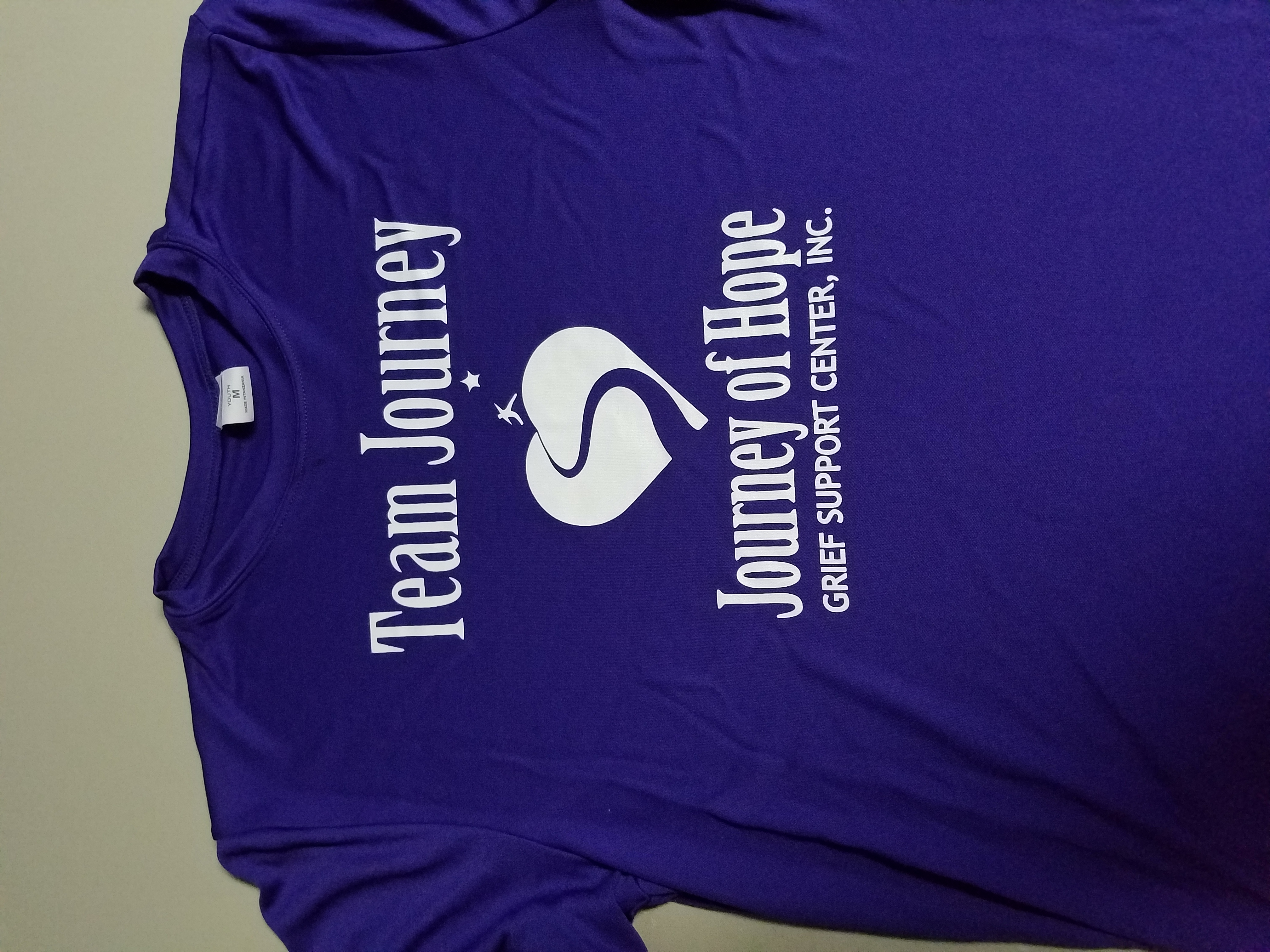Team Journey Dri Fit Shirts