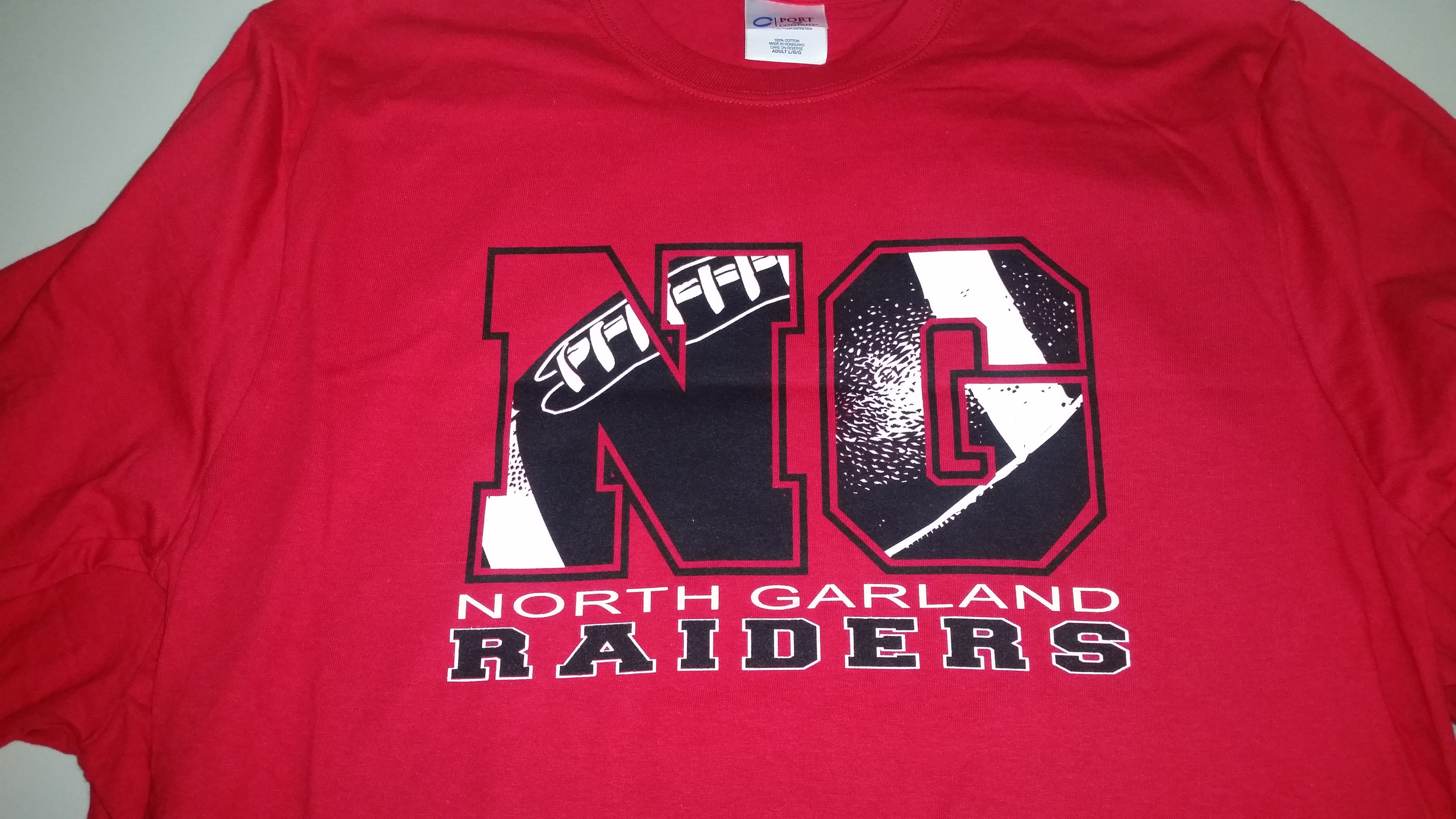 North Garland Football Shirts