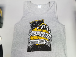 Plano East Volleyball Tanks