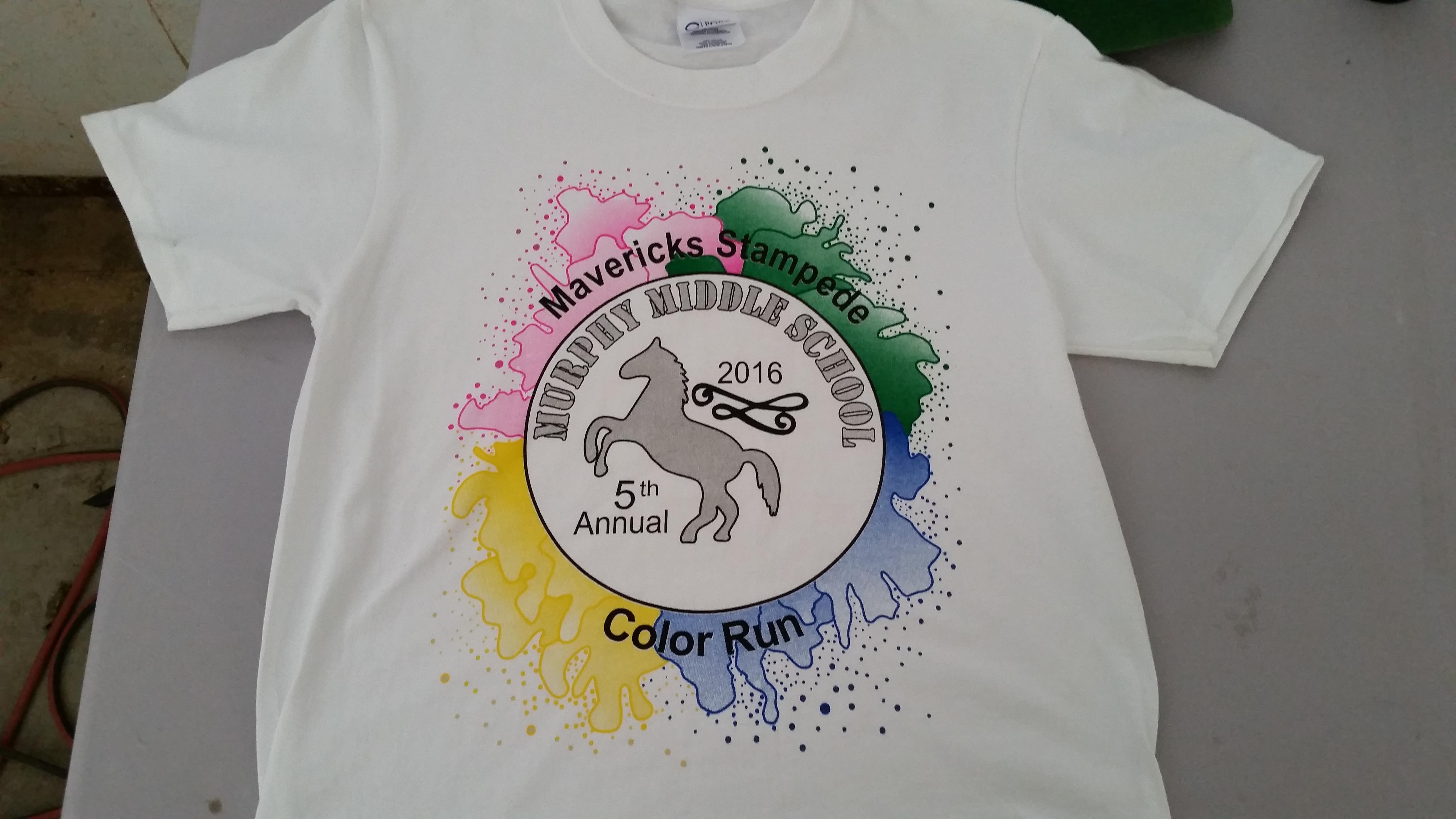 Charity 5K Shirts