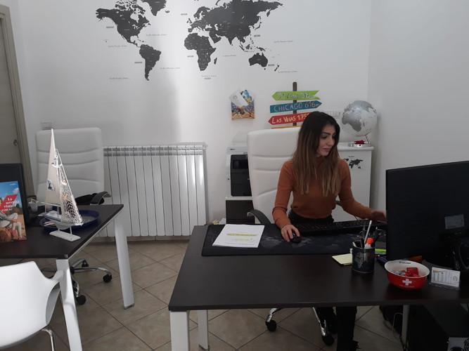 Alessia Polizzi corsista e attuale titolare della sua agenzia di viaggi.