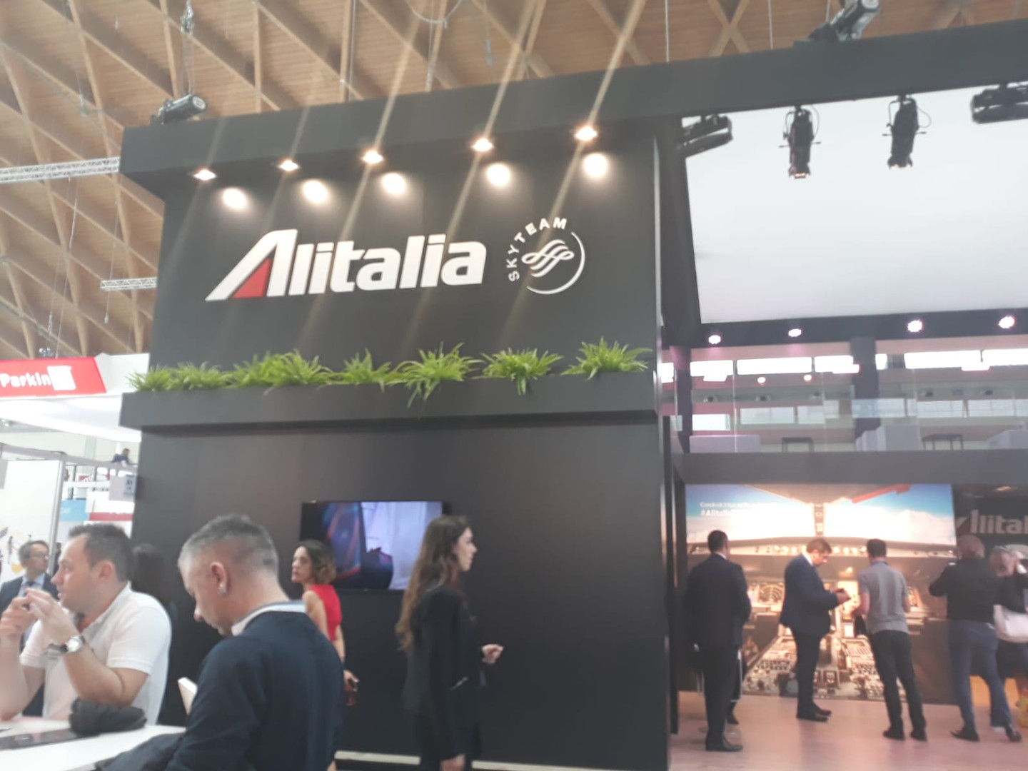Alitalia in fiera_