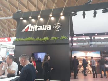 Alitalia in fiera_