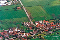 Hessay from the air circa 1998