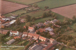 Hessay from the air Circa 1995