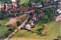 Hessay from the air Circa 1997