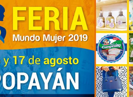 Empresarias del suroccidente colombiano participarán en la Feria Mundo Mujer 2019