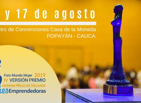 Un total de 244 mujeres del Suroccidente colombiano se inscribieron para el Foro Mundo Mujer 2019