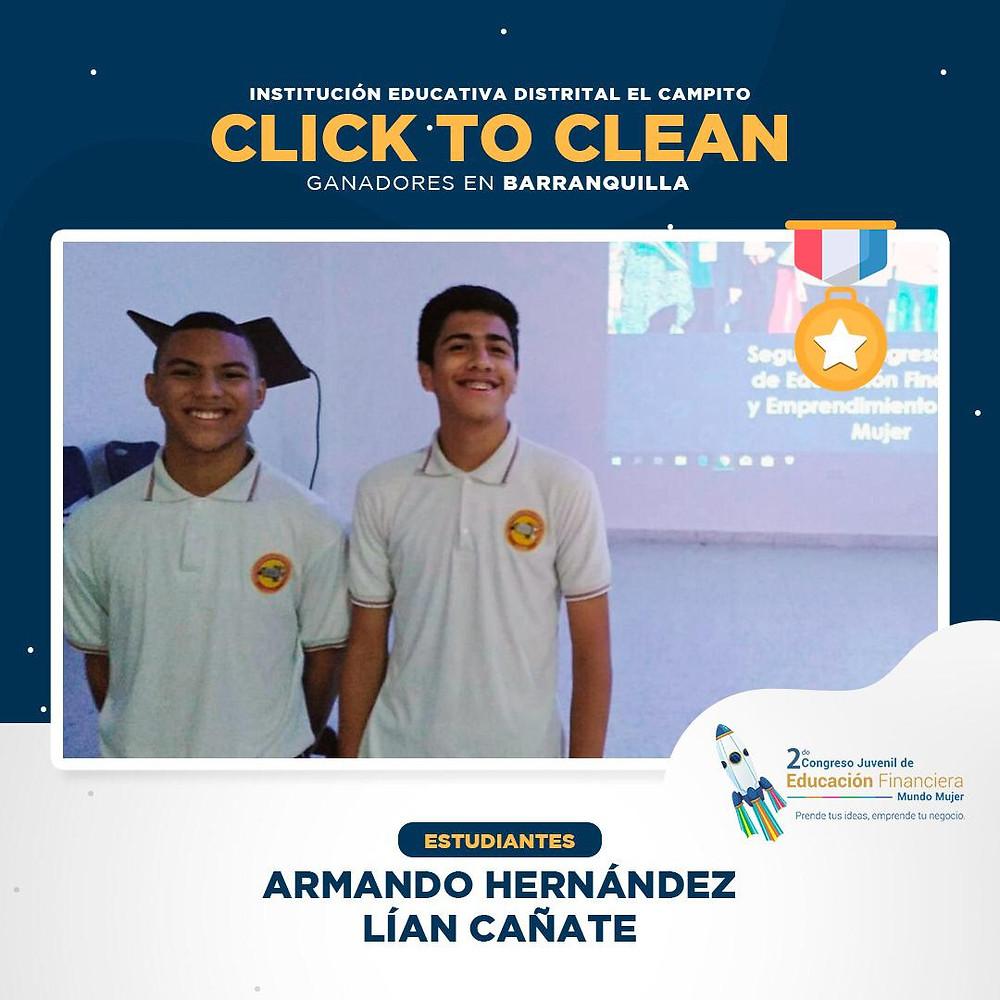 Se trata de una app que incentiva a la ciudadanía a generar labores de limpieza en sectores afectados por el tratamiento inadecuado de basuras y generar reconocimientos económicos a través de la tecnología.