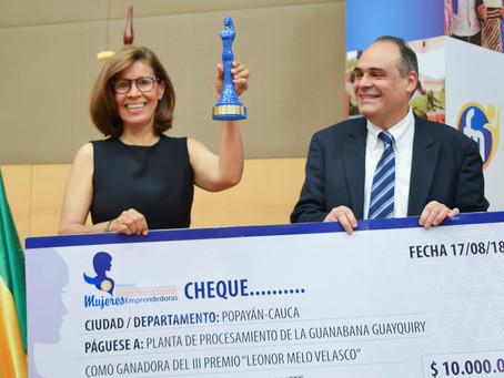 """¿En qué consiste el Premio """"Leonor Melo de Velasco""""?"""