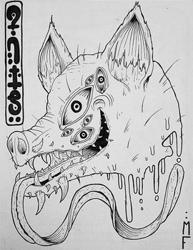 formica_contortedanimalwolf_personalwork
