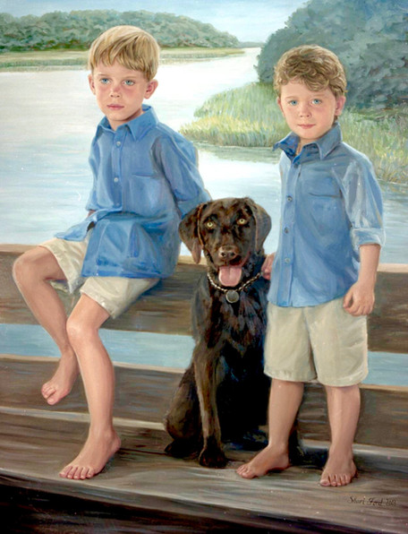 """JP and Presley""      Hilton Head, SC"