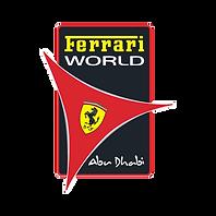 Ferrari world, Abu Dhabi logo.