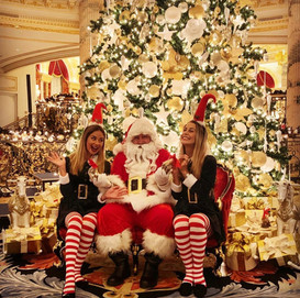 Emerald Palace's choice of Santa for their tree lighting ceremony.