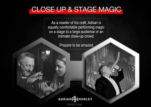 Close up & Stage Magician in Dubai