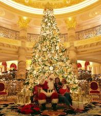Santa at Emerald Palace