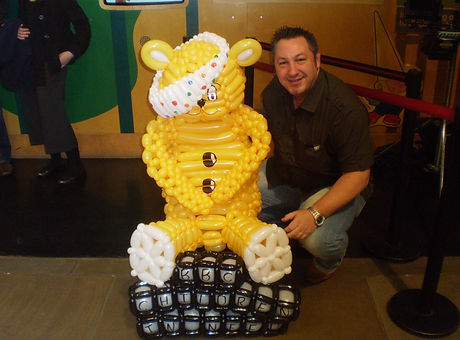 Pudsey, Children in need.