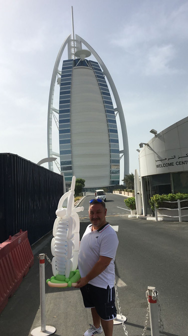 Balloon Burj Al Arab
