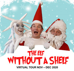 """Poster for the Movie """"The Elf without a Shelf"""""""