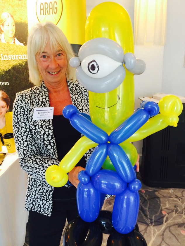 Large Minion Balloon Sculpture