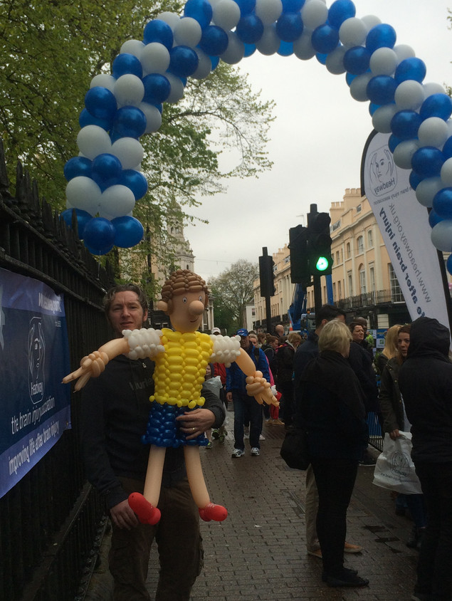 London Marathon Balloon Sculpture