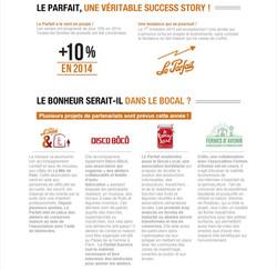 Newsletter Avril 2015 - Le Parfait