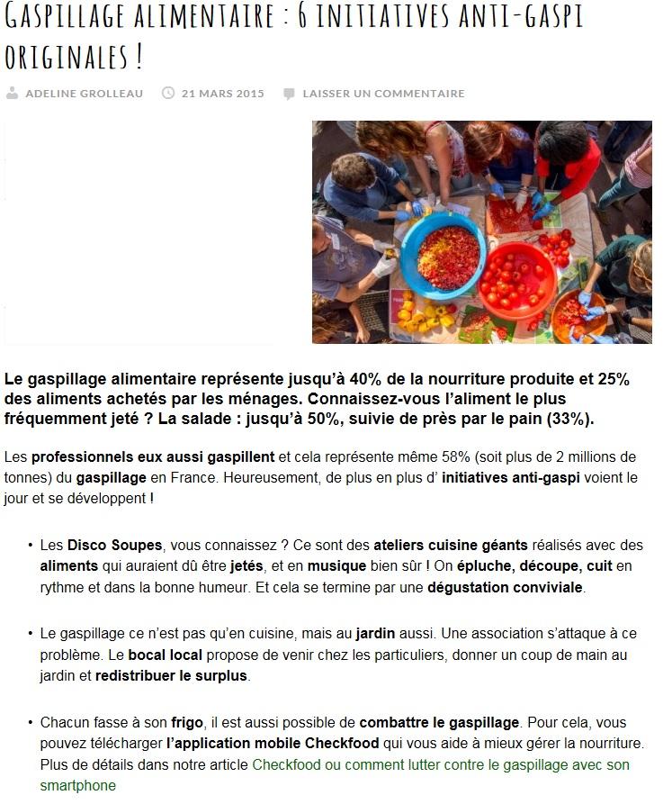 Article Site internet ToutVert.fr - 21-03-15