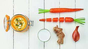 Soupe de carottes améliorée
