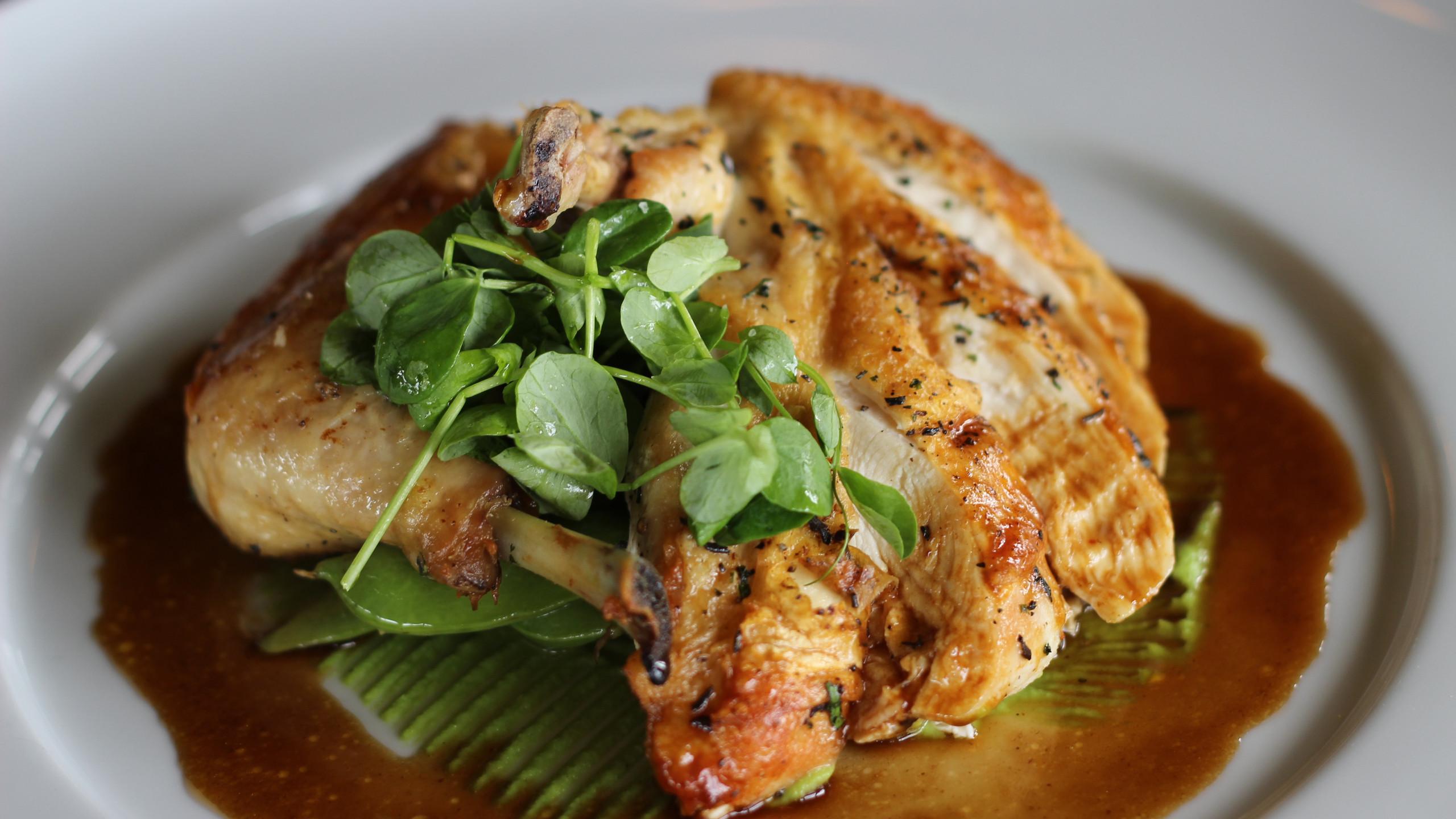 Cast Iron Crusted Chicken