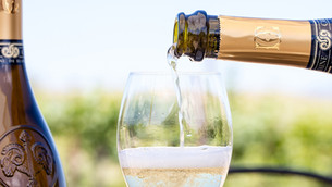 Domaine Carneros Bubbly Lunch at the Hunt Club - 9/4