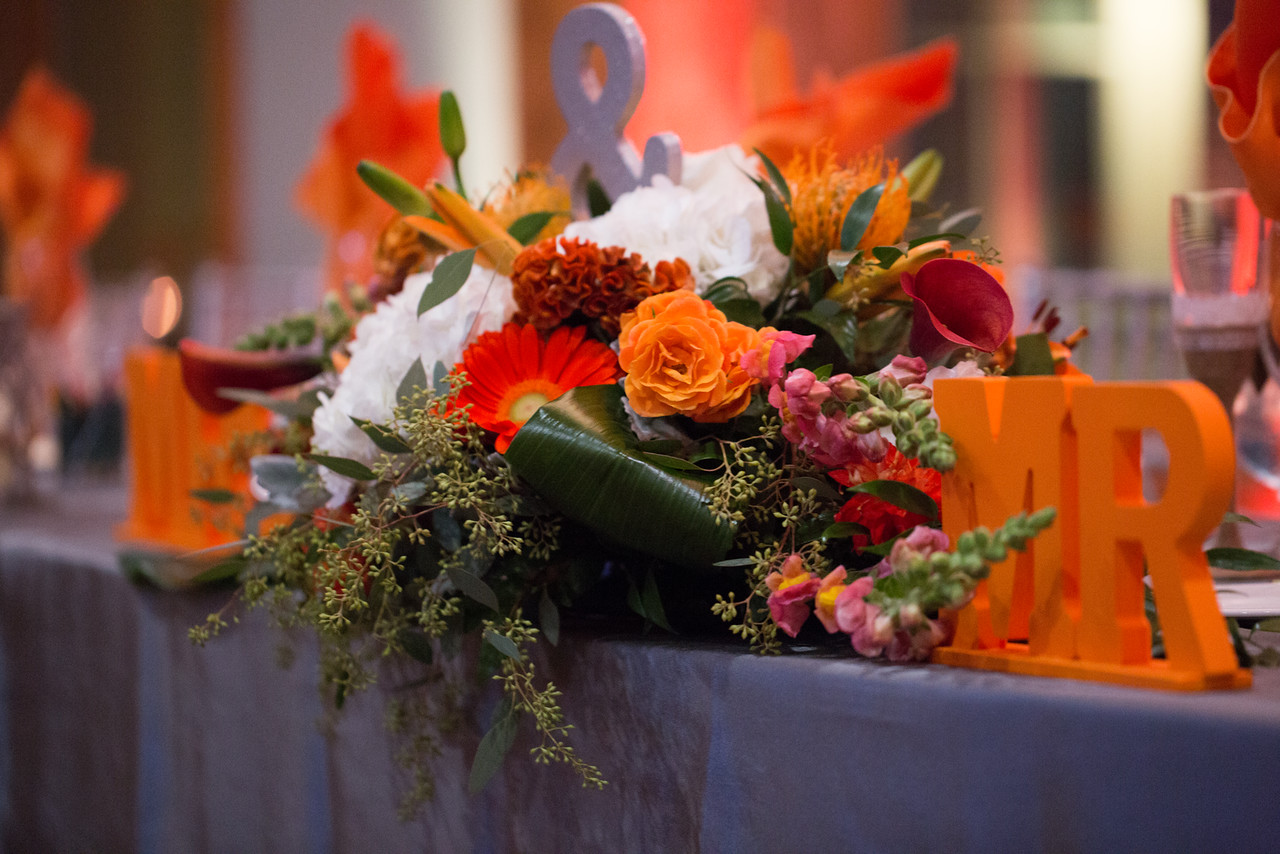 Head Table Floral Design