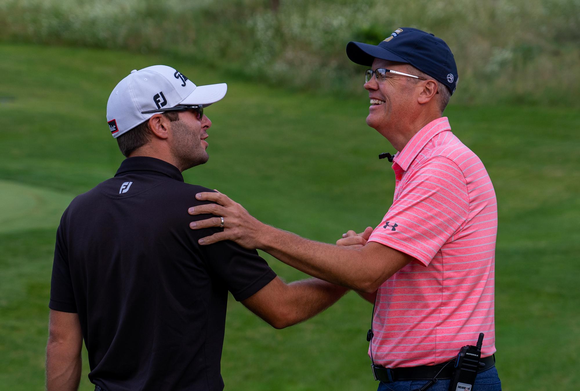 Joe Stalder and Dan Woltman Congrats