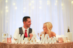 Wedding Sweetheart Table - Becca Major P
