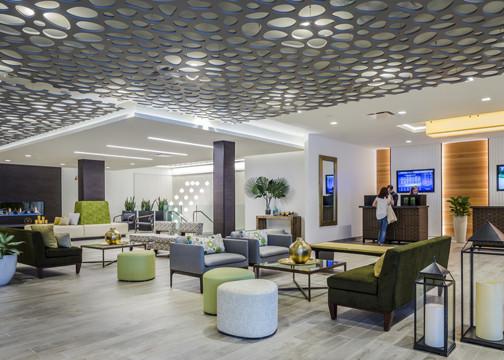 Ridge Hotel Lobby designed by Callison RTKL