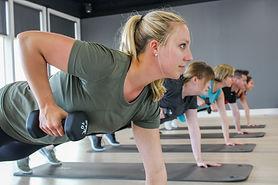 Member Wellness Center - Plank & Weights