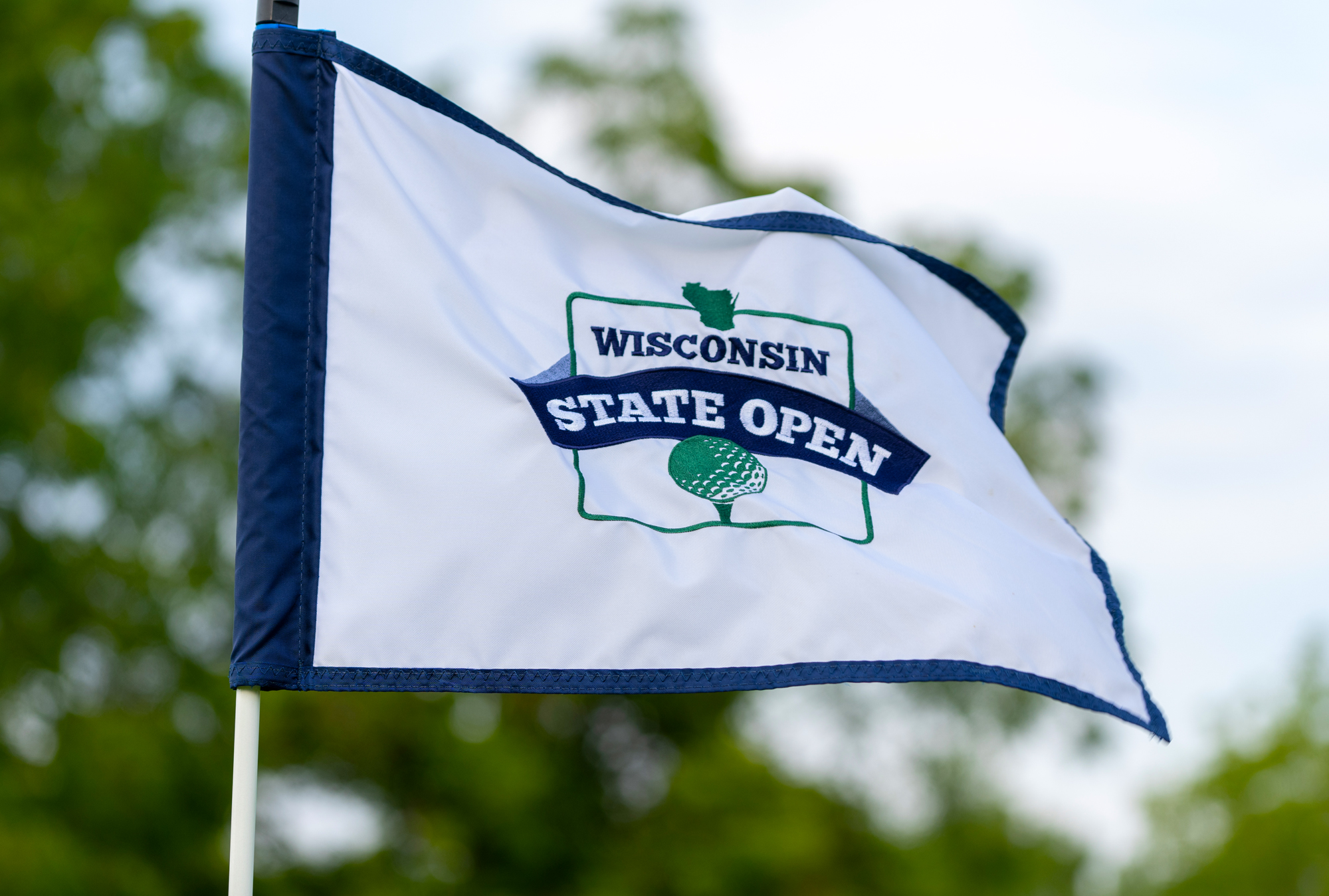 State Open flag