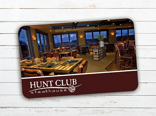 $100 Hunt Club Gift Card