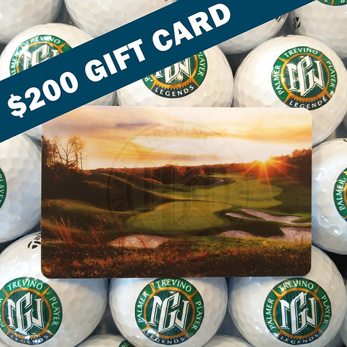 $200 Geneva National Gift Card