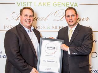 The Ridge Hotel Receives Hospitality Impact Award