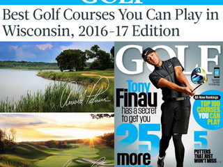Geneva National Courses Among GOLF's 2016-17 Best Courses You Can Play in WI